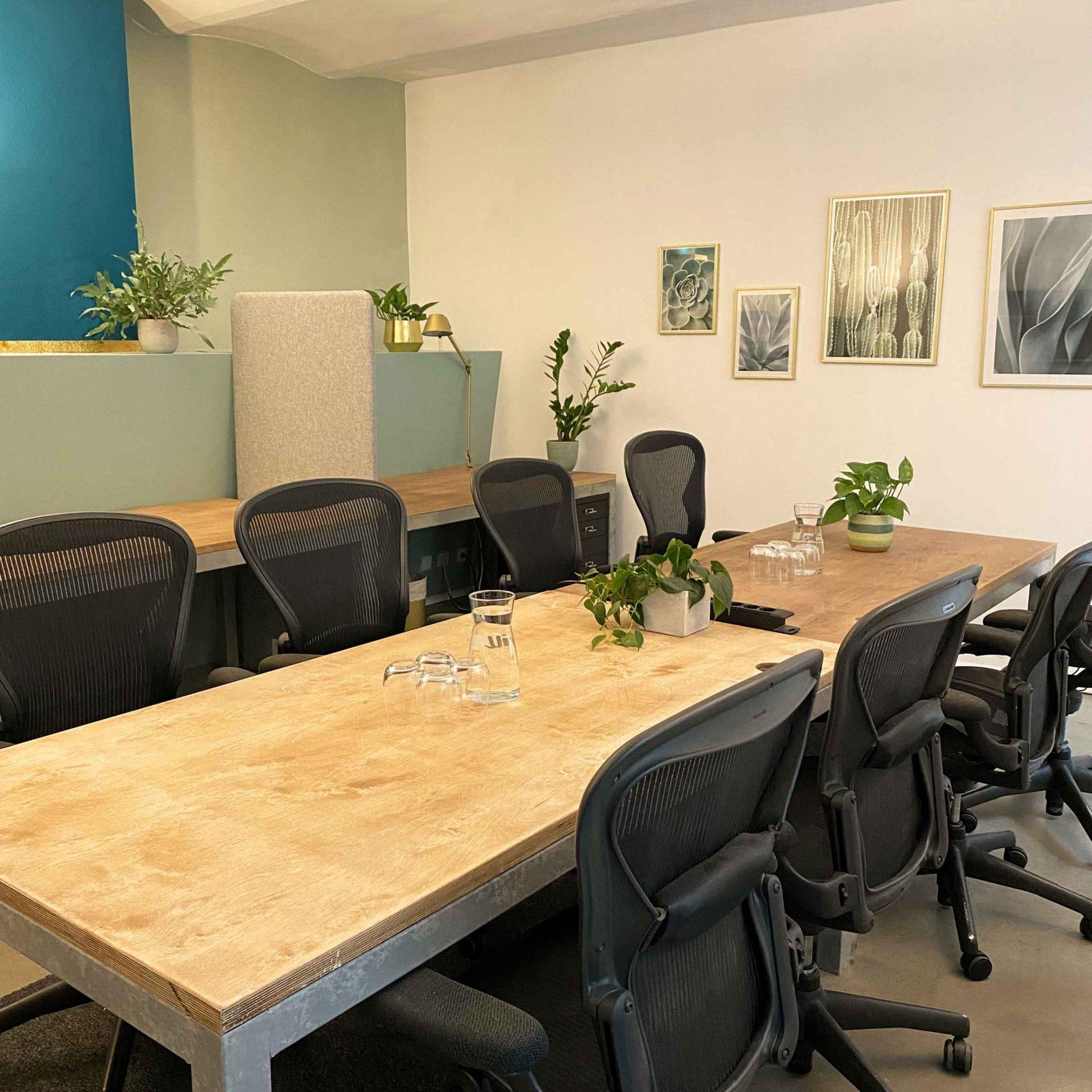 beautiful meeting space